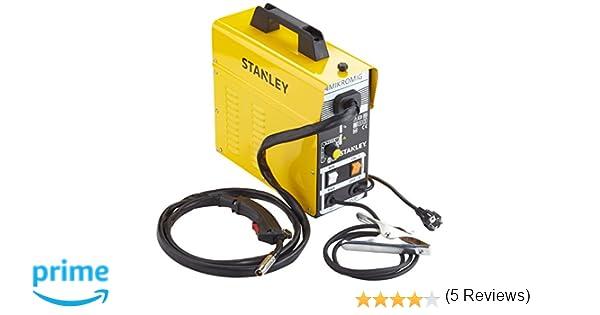 Stanley 460215 MIG MAG - Puesto para soldar (90 A, semiautomática): Amazon.es: Industria, empresas y ciencia