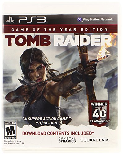 Tomb Raider Game of the Year - PlayStation 3 (Crystal Dynamics Rise Of The Tomb Raider Ps4)