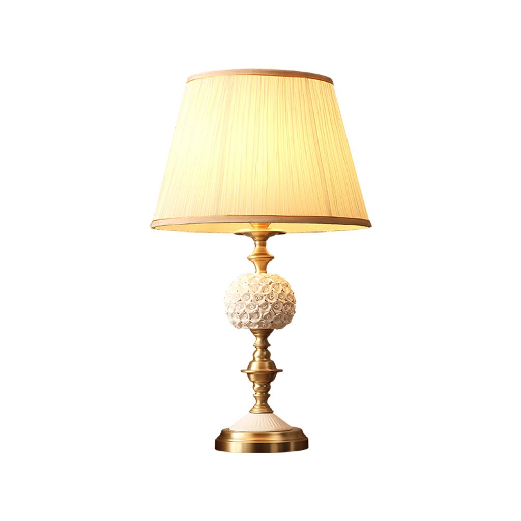 TD- Ceramic table lamp, living room table lamp bedroom bedside lamp ...