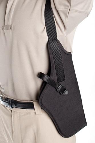 BLACKHAWK! Black Vertical Shoulder Holster Scoped, Size 04, Left Hand ()