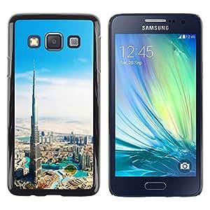 Stuss Case / Funda Carcasa protectora - Burj Dubai Khalifa - Samsung Galaxy A3