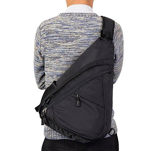 Sling Bag Backpack One Strap Cross Body Chest Pack for Men & Women - Travel Backpack Multipurpose Daypack
