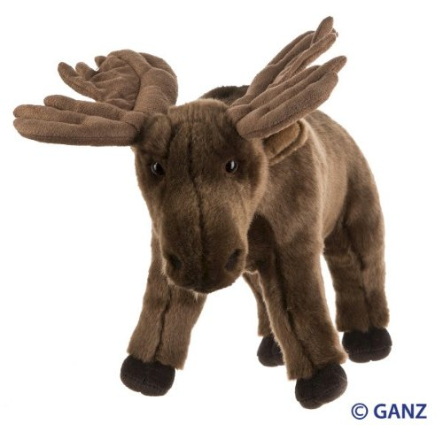 (Webkinz Signature Moose with Trading Cards)