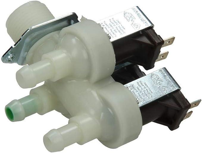 Miele Bosch 1678013 - Electroválvula de lavadora triple carga de ...