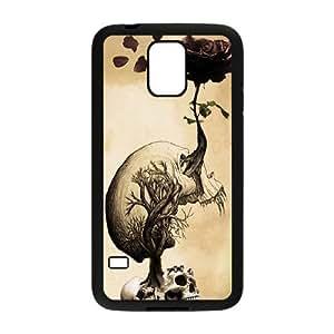 Skull The Unique Printing Art Custom Phone Case for SamSung Galaxy S5 I9600,diy cover case ygtg556139 Kimberly Kurzendoerfer