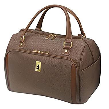 London Fog Kensington 17 Inch Deluxe Cabin Bag, Bronze, One Size