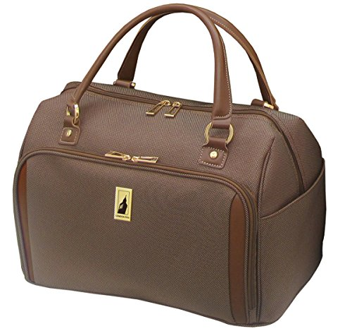 London Fog Kensington 17 Inch Deluxe Cabin Bag, Bronze