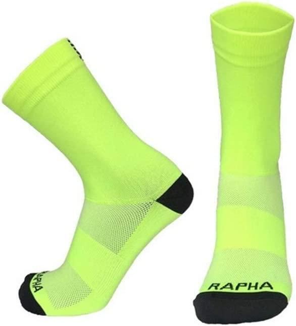 IN THE DISTANCE Cycling Socks Cyclisme Chaussettes Professionnelle Rapha Sport Route Chaussettes V/élo Respirant ext/érieur Chaussettes v/élo