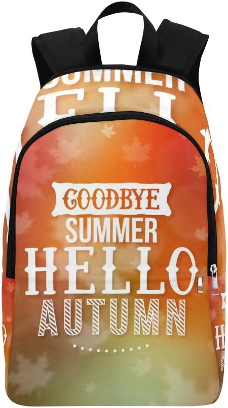 DKGFNK Womens Sports Bags Season Hello Golden Autumn Fall Durable Water Resistant Classic Sports Camera Bag Casual Shoulder Bag Toddler School Bags College Bags for Women