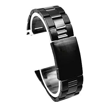 Cuitan 22mm Acero Inoxidable Correa de Reloj para Samsung Gear S3 Classic / S3 Frontier /