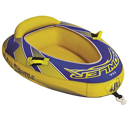 Full Throttle Speed Ray 1, One Person Towable Tube (1 Speed Wing)