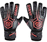 Coodoo Adult & Youth Soccer Goalkeeper Gloves with Pro Finger Protect 3.6mm Strong