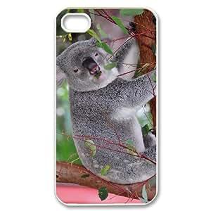 Hard Shell Case Of Koala Customized Bumper Plastic case For Iphone 4/4s