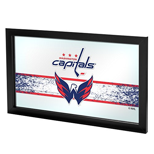 Trademark Gameroom NHL Washington Capitals Framed Logo Mirror