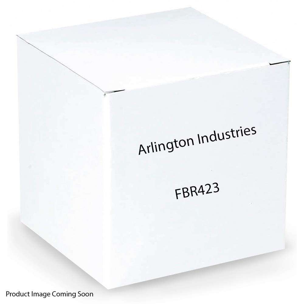 Arlington FBR423 Plastic Ceiling Fan/Fixture Support Box With Adjustable Steel Bracket 2.548 Inch 23 Cubic-Inch