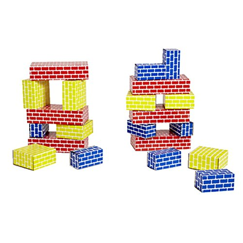 Childcraft Edushape 709036 Corrugated Blocks (36 Piece)