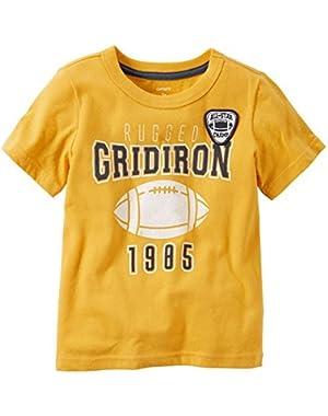 Baby Boys' Vintage Football Tee - Rugged Gridiron ...