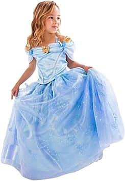 MissFox Disfraz De Princesa para Niña Trajes Carnaval: Amazon.es ...