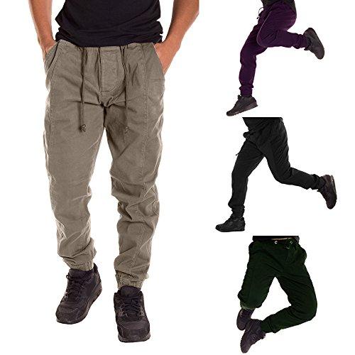 Celucke Pantaloni Uomo Pantaloni Chino Nero Celucke P0wvq08