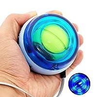 DINOKA Wrist Trainer LED Wrist Ball Powerball Gyroscopic Ball - Arm Strengthener , Wrist & Forearms Exerciser