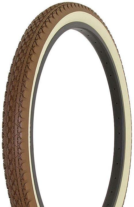 "2 DURO BICYCLE TIRES DIAMOND TREAD 26/"" x 2.125/"" GRAY GRAY WALL HF-133"