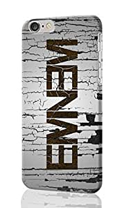 Eminem Pattern Image - Protective 3d Rough Case Cover - Hard Plastic 3D Case - For iphone 5C -