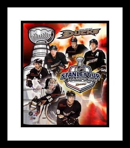 2006/07 Anaheim Ducks Framed 8x10 Photo - Stanley Cup Champions Collage