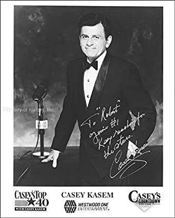 Casey Kasem - Inscribed Photograph Signed at Amazon's