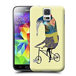 BY SHICASE Cute Elephant Painting Picture Of Vivid And Attractive Design Tpu Cases For Samsung Galaxy s5