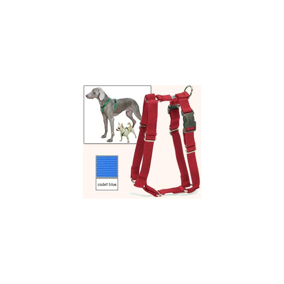 Sure Fit Dog Harness, 5 Way Adjustability for a Perfect Fit (Cadet Blue, X Petit)
