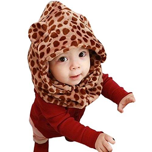 Velours Leopard Amurleopard A Chapeau Pour En Enfant Bonnet Bebe Capuche Cafe Echarpe 7RxnXRvqO1