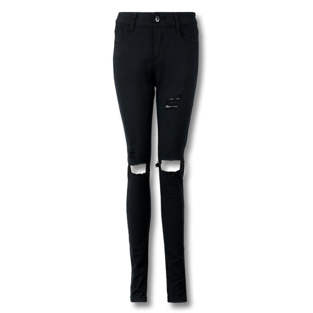 Mujer Pantalones Longra Pantalones Vaqueros de Mujer