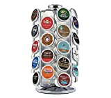 keurig pod carousel - Keurig 5000196801 K-Cup Pod Carousel Coffee Machine Accessory, 36 Count, Chrome