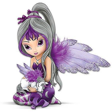 Jasmine Becket-Griffith Fairy And Unicorn Figurine: Midnight Dream by The Hamilton Collection (Becket Jasmine Fairies Griffith)