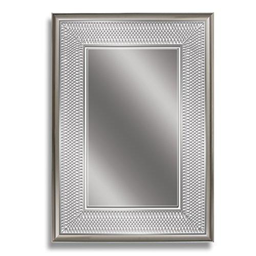 - Head West 24 x 34 Silver Park Avenue Mirror, 24x34 inches