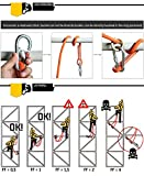Safety Lanyard Professional Protective Safety Belt