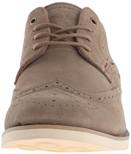 Hush Puppies Mens Fowler Ez Klänning Oxford Taupe Mocka