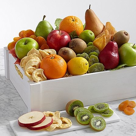 Signature Dried Fruits - Same Day Dried Fruit Basket Delivery - Dried Fruit Gifts - Best Dried Fruit Tray- Mixed Dried Fruit - Dried Fruit and Nut Gift Baskets
