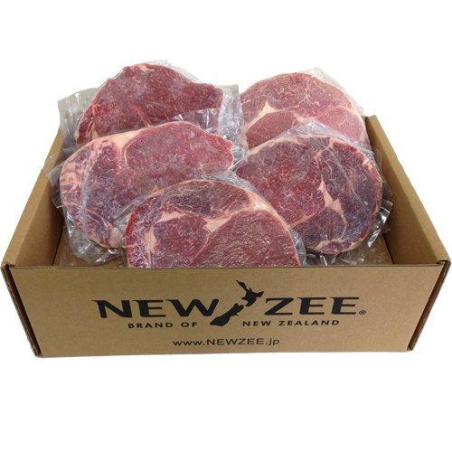 NEWZEE ビーフリブアイ ニュージーランド 5 x 200g ステーキ イメージ