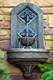 The Byzantine Outdoor Wall Fountain - Bronze