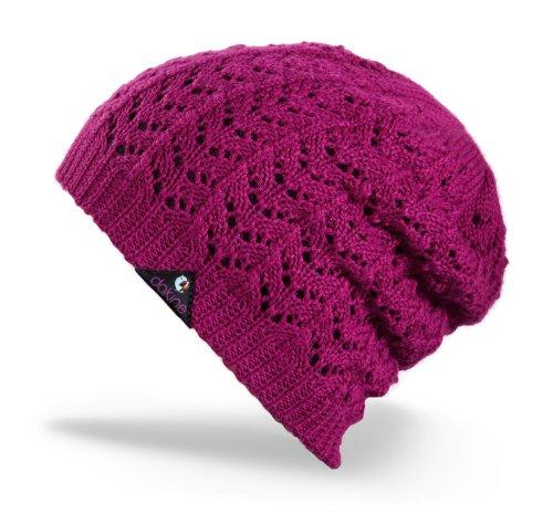 Dakine Knit - DAKINE Women's Grace Pointelle Knit Tall Beanie (Violet, One Size)