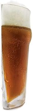 Enjoy the Half Pint  Beer - Fun and Original Glass, 2 pcs.