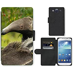 Hot Style Cell Phone Card Slot PU Leather Wallet Case // M99999288 Anteater // Samsung Galaxy S3 S III SIII i9300