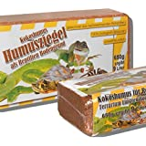 6 x 650 Gramm Kokoseinstreu Bodengrund Kokoserde Humusziegel für Reptilien Terrarium Einstreu Cocoground Kokosgrund Kokoshumus Kokosziegel Kokosfaser Briketts Kokobricks -fein-