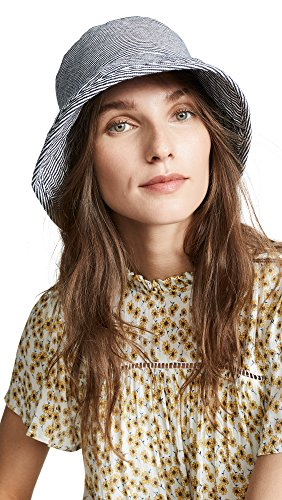 Hat Attack Women's Washed Cotton Crusher Hat, Stripe, One Size