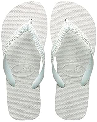 Havaianas Top, Chanclas para Unisex Adulto, Blanco (White), 35/36 EU (33/34 Brazilian)