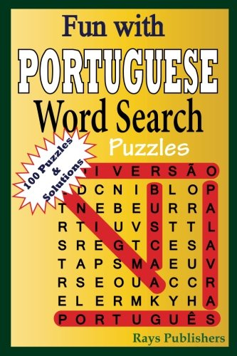 Fun with PORTUGUESE - Word Search Puzzles (Volume 1) (Portuguese Edition)