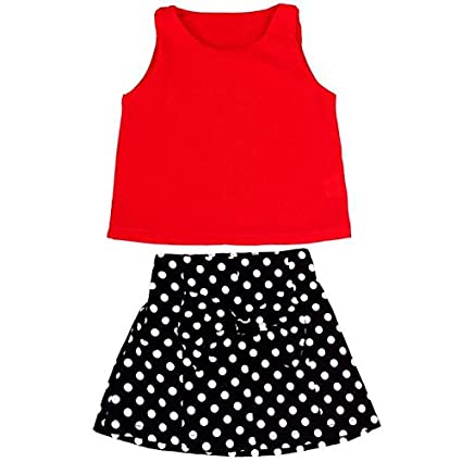 Feixiang Vestido de Las niñas Traje de Fiesta Vestido de Las niñas Chaleco Vestido Plisado Camisa