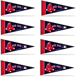 Boston Red Sox 8 Piece Mini Pennant Set