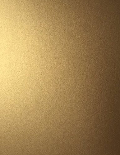 ANTIQUE GOLD Stardream Metallic Cardstock Paper - 8.5 X 11 inch - 105 lb. / 284 gsm Cover - 25 Sheets from Cardstock Warehouse - Antique Print Card